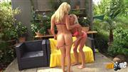 Blonde-Babes – Wir strippen
